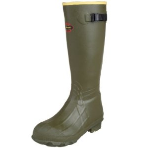 "LaCrosse Men's 18"" Burly Classic Hunting Boot,OD Green"