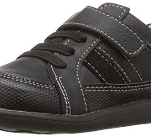 See Kai Run Boys' Randall II Uniform Dress Shoe, Black