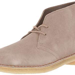 CLARKS Men's Desert Boot Chukka, Sand Suede