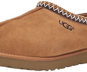 UGG Australia Men's Tasman Chestnut Suede Slippers