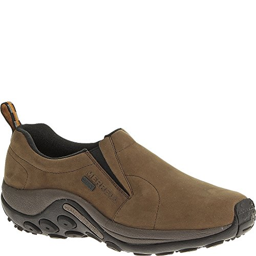 Merrell Men's Jungle Moc Nubuck Waterproof Slip-On Shoe
