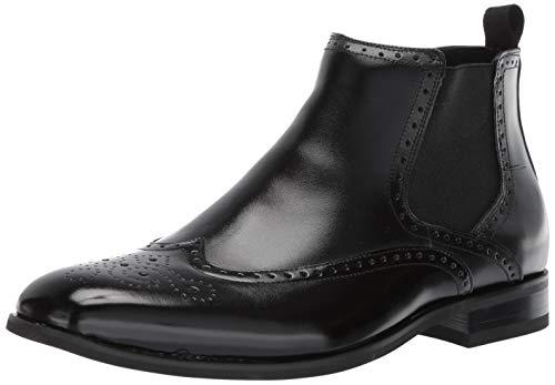 Stacy Adams Men's Iverson Wingtip Chelsea Boot, Black