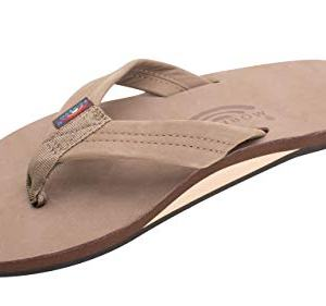 Rainbow Sandals Men's Premier Leather Single Layer Wide Strap