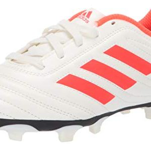 adidas Unisex Copa 19.4 Firm Ground, off white/solar red/off white