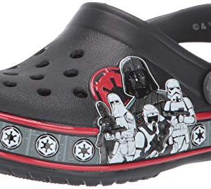 Crocs Kid's Star Wars Empire Band Character Clog, Black