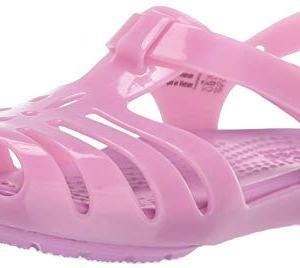 Crocs Kids' Isabella Sandal Ballet Flat, Violet