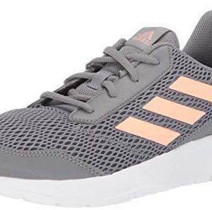 adidas Unisex Altarun Running Shoe, Grey/Glow Pink/White