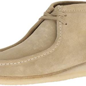 CLARKS Men's Wallabee Boot Fashion, Maple Suede