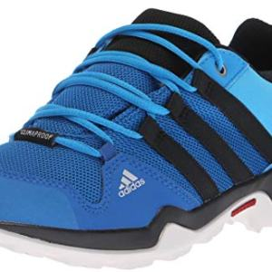 adidas outdoor Unisex-Kid's Terrex AX2R CP K, Blue Beauty/Black/hi-res Orange
