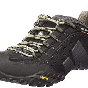 Merrell Men's Intercept, Smooth Black Leather