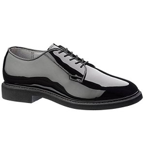Maelstrom Men's High Glossy Oxford Shoe, Black