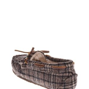 Minnetonka Boys Cassie Plaid Slipper