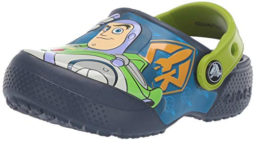 Crocs Boys and Girls Buzz Woody Clog, Navy