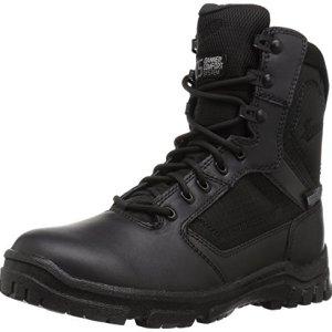 """Danner Men's Lookout Side-Zip 8"""" Black Military & Tactical Boot"""