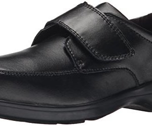 Hush Puppies Kids' Unisex Gavin Dress Shoe, Black