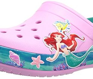 Crocs Unisex Kids CB Princess Ariel Clog K, Carnation