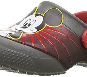 Crocs Kids' Fun Lab Mickey 90th Birthday Clog,