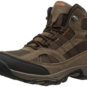 Northside Unisex-Kid's Rampart MID Hiking Boot, Medium Brown