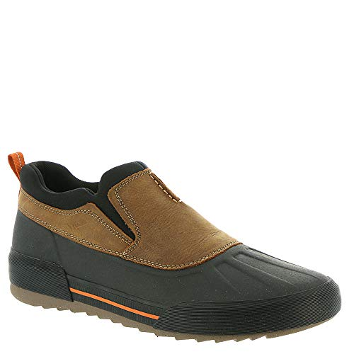 CLARKS Men's Bowman Free Shoe, Dark Tan Leather