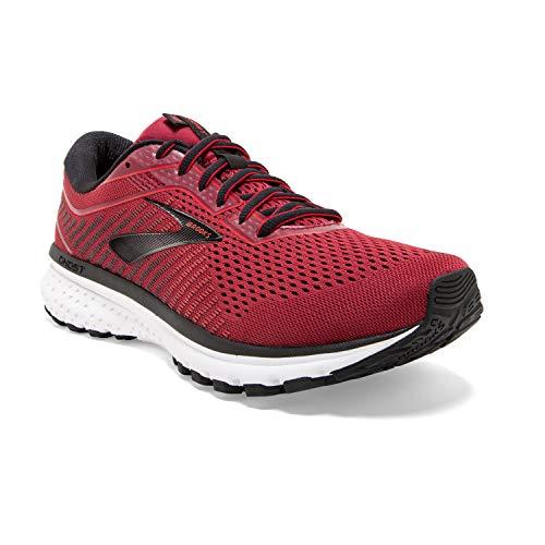 Brooks Mens Ghost Running Shoe - Red/Biking Red/Black