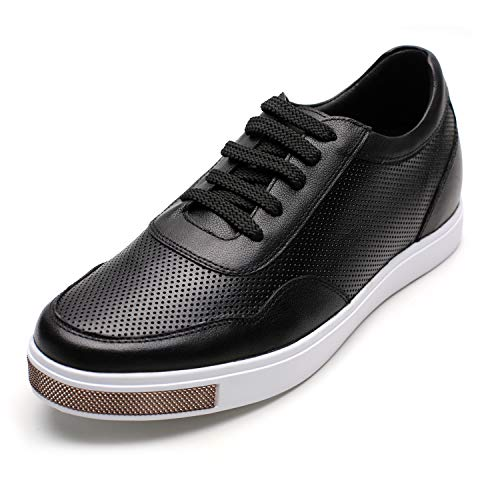 CHAMARIPA Men's Invisible Height Increasing Elevator Shoes-Breathable