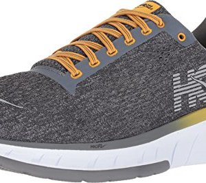HOKA ONE ONE Men's Cavu Running Shoe Alloy/Nine Iron