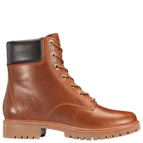 "Timberland Women's Jayne 6"" Waterproof Boot Medium Brown Full Grain"