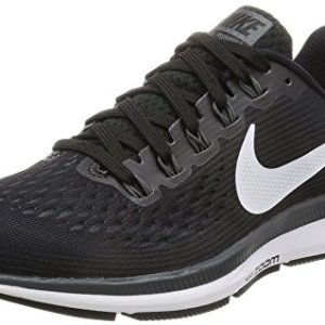 Nike Women's Air Zoom Pegasus 34 Running Shoe BLACK/WHITE-DARK