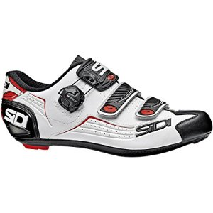Sidi Alba Carbon Cycling Shoe - Men's Black/White/Red