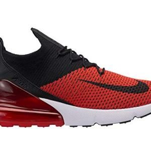 Nike Air Max Flyknit - Mens Chili Red/Black/Challenge Red/White