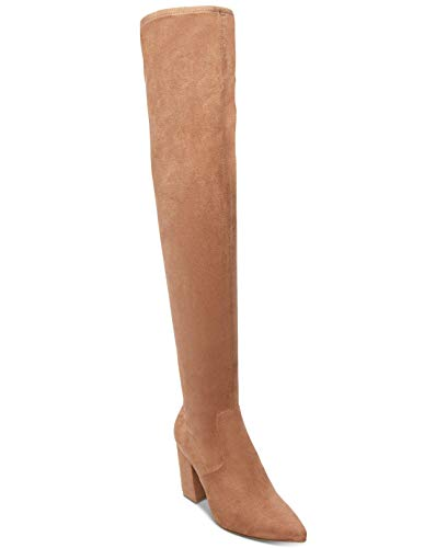 Steve Madden Womens Rational Fabric Pointed Toe Over Knee Fashion