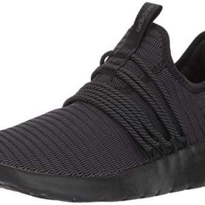 adidas Men's Lite Racer Adapt Shoes, black/black/grey