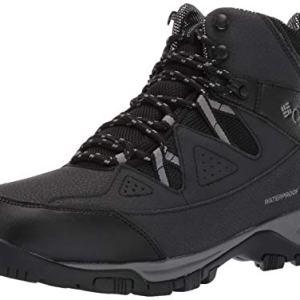 Columbia Men's LIFTOP III Snow Boot, Black, ti Grey Steel