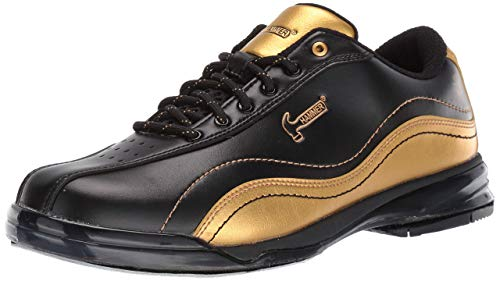 Hammer Bowling Products Mens Black Widow Gold Performance Bowling Shoes
