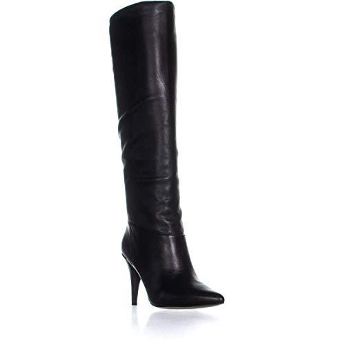 MICHAEL Michael Kors Womens Rosalyn Leather Knee-High Boots