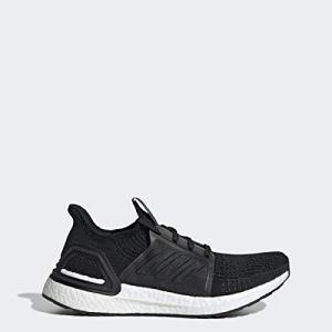adidas Women's Ultraboost W Running Shoe, Black/Grey/Solar Orange