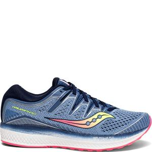 Saucony Women's Triumph ISO 5 Running Shoe, Blue/Navy