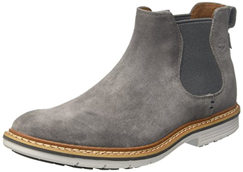 Timberland Mens Naples Trail Chelsea Dark Grey Suede