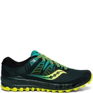 Saucony Men's Peregrine ISO Road Running Shoe, Green/Teal