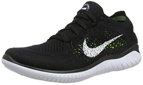 Nike Womens Free Rn Flyknit 2018 Low Top Lace Up Running
