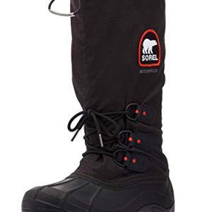 Sorel Men's Blizzard XT Snow Boot, Black/Red Quartz