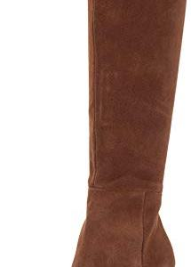Steve Madden Serve Knee Boot Chestnut Suede