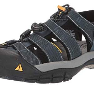 Keen Men's Newport H2 Sandal,Navy/Medium Grey