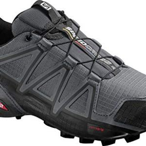 Salomon Men's Speedcross 4 Trail Runner, Dark Cloud