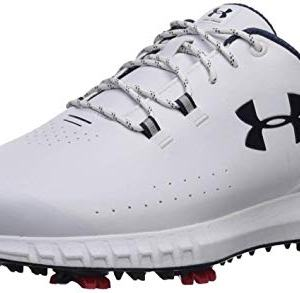 Under Armour Men's HOVR Drive Golf Shoe, White