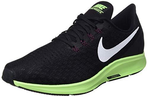Nike Men's Air Zoom Pegasus 35 Running Shoe Black/White/Burgandy