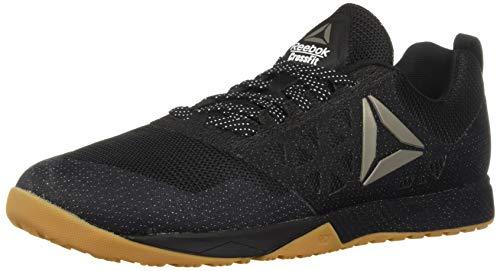 Reebok Men's CROSSFIT Nano 6.0 Climbing Shoe, Black/Gum