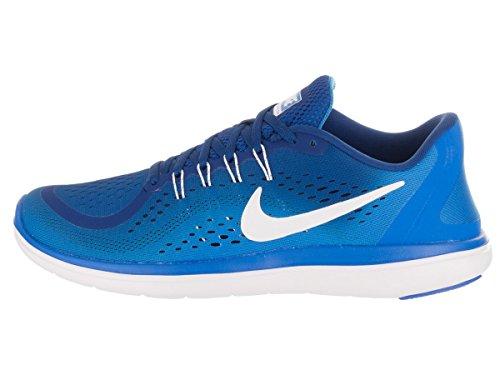 Nike Men's Flex 2017 Rn Gym Blue/White - Photo Ankle-High Running Shoe Nike Men's Flex 2017 Rn Gym Blue/White - Photo Ankle-High Running Shoe 11.5M.