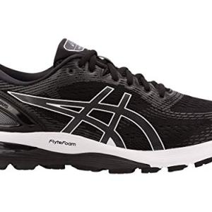 ASICS Men's Gel-Nimbus 21 (4E) Running Shoes, Black/Dark Grey