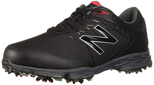 New Balance Men's Striker Waterproof Spiked Comfort Golf Shoe